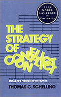 Book cover image of Thomas Schelling's The Strategy of Conflict